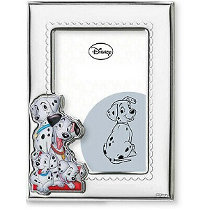 CORNICE DISNEY MICKEY MOUSE IN ARGENTO Cod. D314/4LC