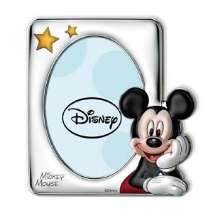 CORNICE DISNEY MICKEY MOUSE IN ARGENTO Cod. D238/4LC